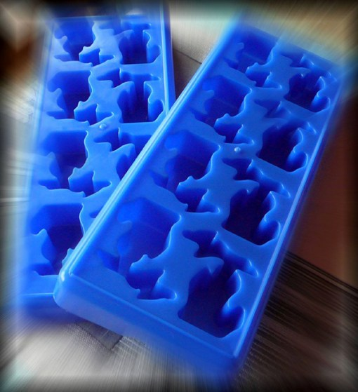Michigan Ice Cube Trays - Blue