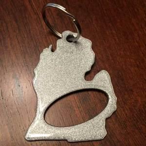 Michigan Keychain Bottle Opener
