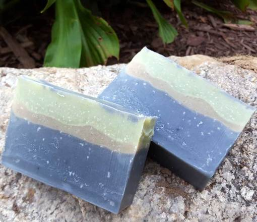Release Soap (Reiki and Crystal Infused with Apache Tear)