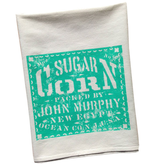 Vintage Graphic Sugar Corn Towel