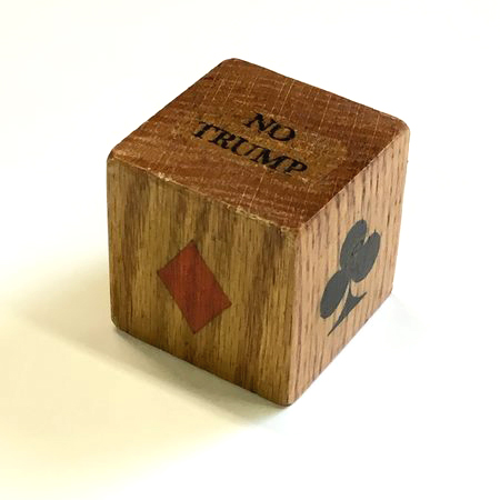 Wood Trump Marker for Card Games