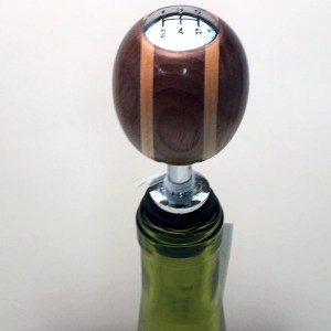 Leland Blue Bottle Stopper