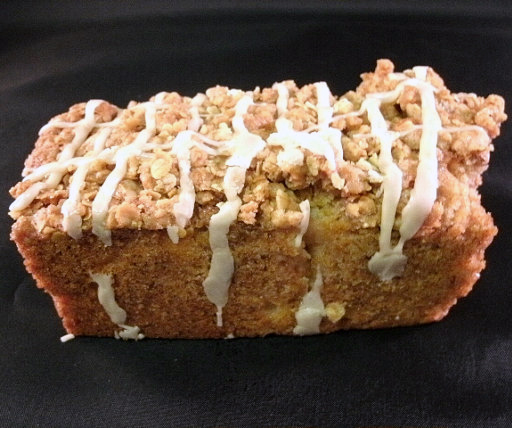 Apple Bread with Streusel Topping