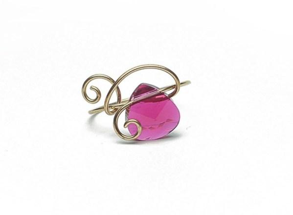 Briolette Ring