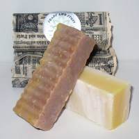 All natural Handmade Soap in Macintosh Apple and Coconut Cream