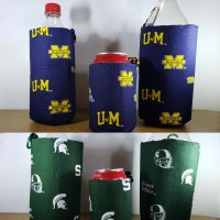 Bottle or Can Insulted Koozie Carabiner Included