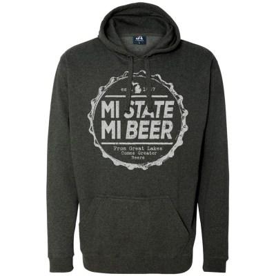 MI State MI Beer Hoodie