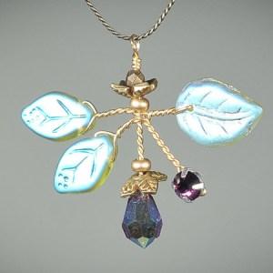 Amethyst Bouquet Necklace
