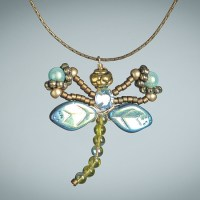 Montana Blue Dragonfly Necklace