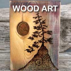 Made in Michigan Wood Art