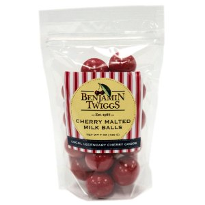Cherry Malted Milk Balls