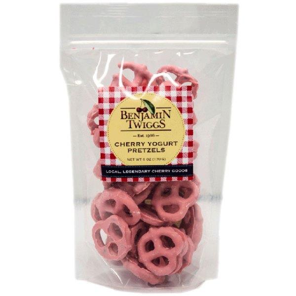 Cherry Yogurt Pretzels
