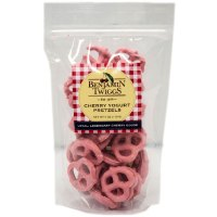 Cherry Yogurt Pretzels