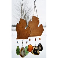 Agate Michigan Wind Chime
