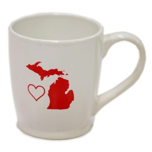 Michigan Love Mug