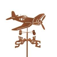 Airplane Corsair Weathervane