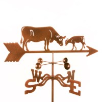 Cow With Calf Weathervane