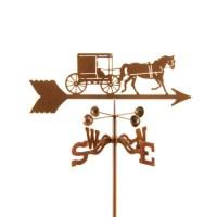 Horse and Buggy – Amish Weathervane