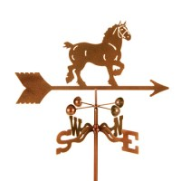 Horse – Draft Horse Weathervane