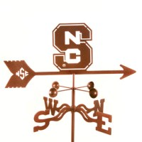 North Carolina State University Weather Vane