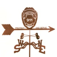 Police Weather Vane