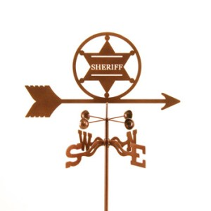 Sheriff Weather Vane