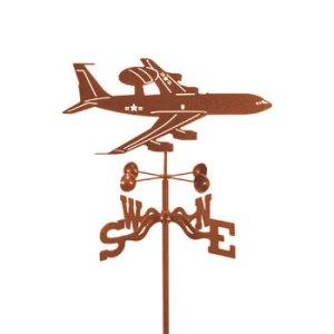 Airplane Awacs Weathervane