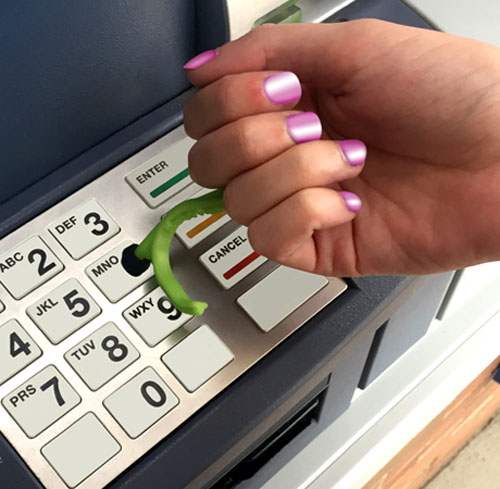 Use the Kooty Key at the ATM