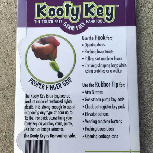 Kooty Key Package Back
