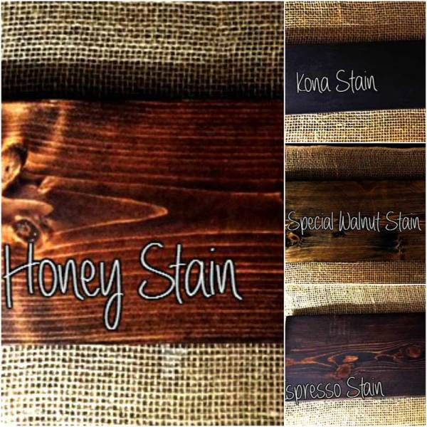 Stain Choices