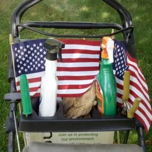 Yard Gecko Lawnmower Storage Tray