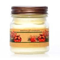 Kristin and Company Holiday Scents 8 oz Mason Jar Candles