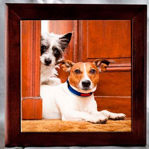 Personalized Framed Photo Tile
