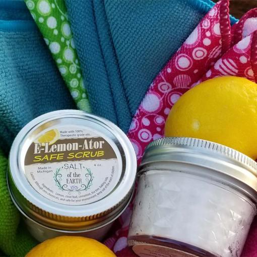 E-Lemon-Ator All Natural Safe Scrub Cleaner