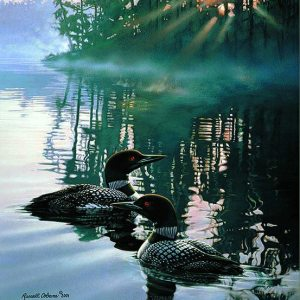 Morning Light Giclee Print on Wrapped Canvas by Artist Russell Cobane