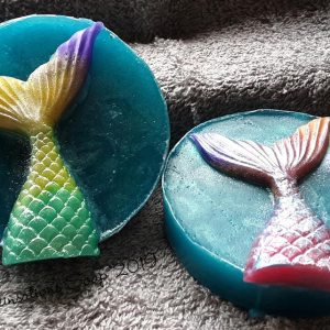 Decorative Glycerin Mermaid Tail Soap
