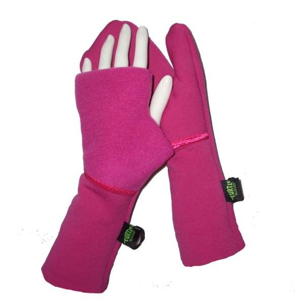 Midweight Running Mittens Pink