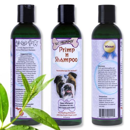 Primp n Shampoo Aromatherapy for Animals
