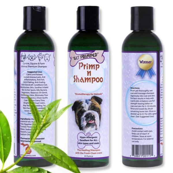 Primp n Shampoo Aromatherapy for Animals