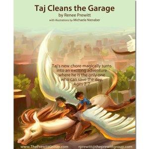 Taj Cleans the Garage Book