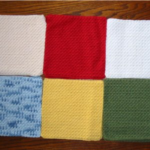 Kitchen Cotton Crochet Dishcloths
