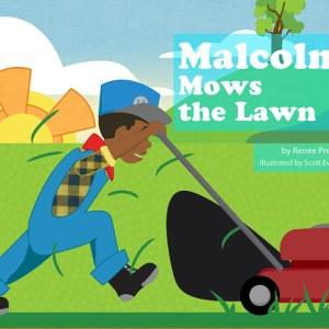 Malcolm Mows the Lawn Book