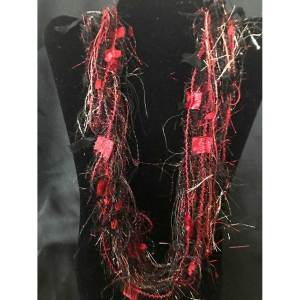 Black Gold Red La Petite Scarf