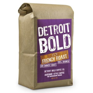 1701 French Roast Coffee by Detroit Bold