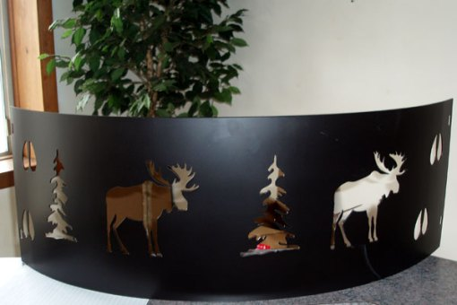 Moose Fire Pit Ring