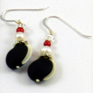 Hyacinth Bean Earrings