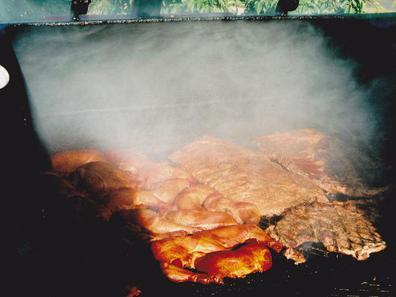 Ribs with Ruben's Chuck Wagon BBQ Sauce