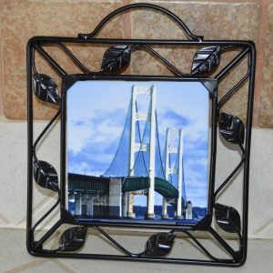 Metal Framed Photo Trivet