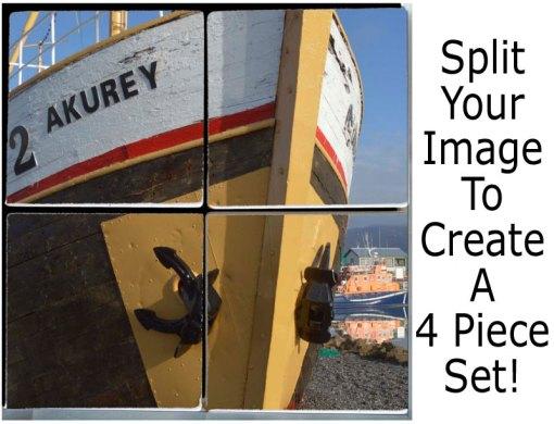 Custom Sandstone Photo Coaster