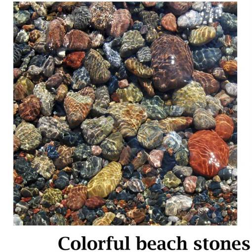 Colorful Beach Stones